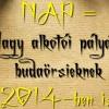 Kisütött a második NAP is Budaörsön – Lehet nevezni a 2014-es Nagy Alkotói Pályázatra
