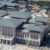 A törvényekkel dacolva is elkészült a török államfő ezerszobás új hivatala