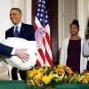 Mac és Cheese megmenekültek – Obama megkegyelmezett a hálaadási pulykáknak