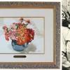 Elárverezik Adolf Hitler virágokat ábrázoló csendéletét