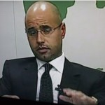 Libia, Kadhafi fia
