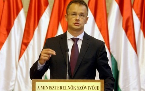 Budapest 2010 Szeptember 8. Szíjjártó Péter sajtótájékoztatója