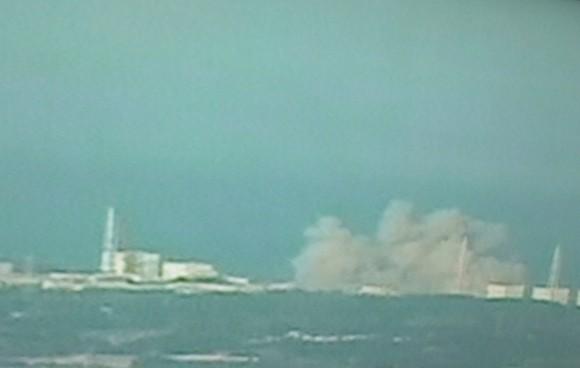Fukusima robbanás