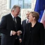 Schmitt Pál,  Angela Merkel