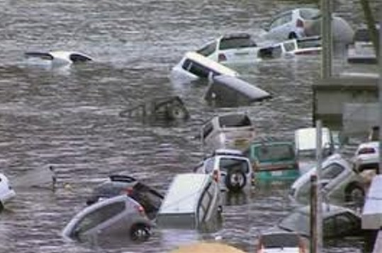 földrengés Japán