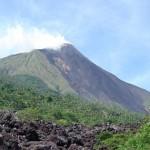 Karangetang vulkán, Indonézia