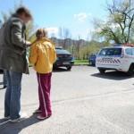 kiskorú autós balesete