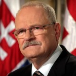 Ivan Gasparovic szlovák államfő