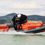 Vízimentők Magyarországi Szakszolgálatának sürgősségi mentőhajója