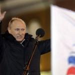 Vlagyimir Putyin gyõzött az orosz elnökválasztáson