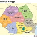 Románia régiói és megyéi