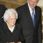 Barbara_Bush_ Bill_Clinton
