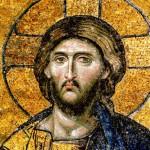 Jézus Krisztust ábrázoló ősi mozaik Törökországból, ahol az arámi volt a közös nyelv élete idején