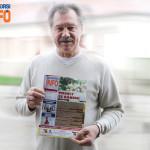 Farkas Bertalan űrhajós a Budaörsi Infó egy korábbi számával 2016-ban