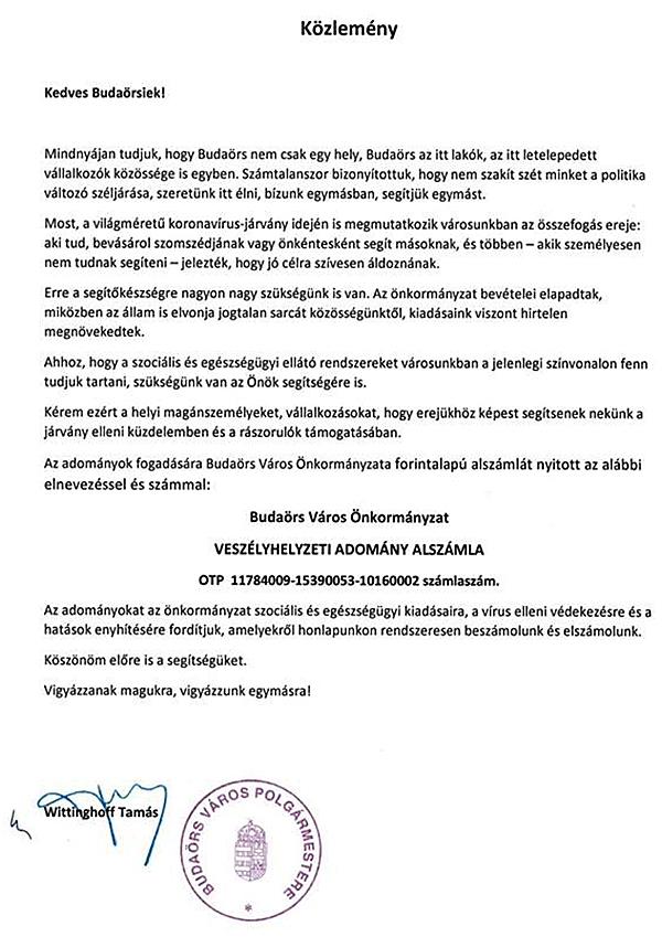 kozlemeny_budaors_2020_04_01_koronavirus