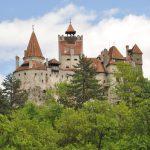 Dracula's Bran Castle in spring season