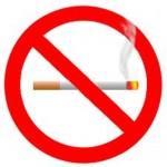 tilos a dohányzás