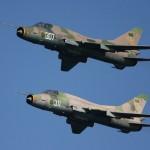 Líbiai Su-22-esek