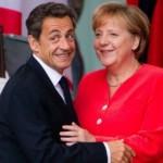 Angela Merkel és Nicolas Sarkozy találkozója Berlinben