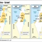 Palesztina_Izrael_terkep