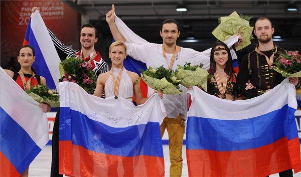 Az orosz páros műkorcsolyázók