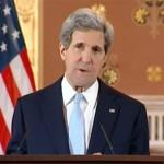 John Kerry speaking in London