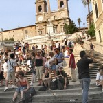 The Spainish Steps - Rome