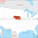Nebraska_usa_terkep