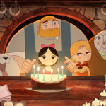 Image from the movie Song of The Sea. Song of the Sea tells the story of Ben and his little sister Saoirse - the last Seal-child - who embark on a fantastic journey across a fading world of ancient legend and magic in an attempt to return to their home by the sea. The film takes inspiration from the mythological Selkies of Irish folklore, who live as seals in the sea but become humans on land. Song of the Sea features the voices of Brendan Gleeson, Fionnula Flanagan, David Rawle, Lisa Hannigan, Pat Shortt and Jon Kenny. Music is by composer Bruno Coulais and Irish band K'la, both of whom previously collaborated on The Secret of Kells.