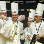 Balról jobbra: Vomberg Frigyes, Széll Tamás, Szulló Szabina és Szabó Kevin