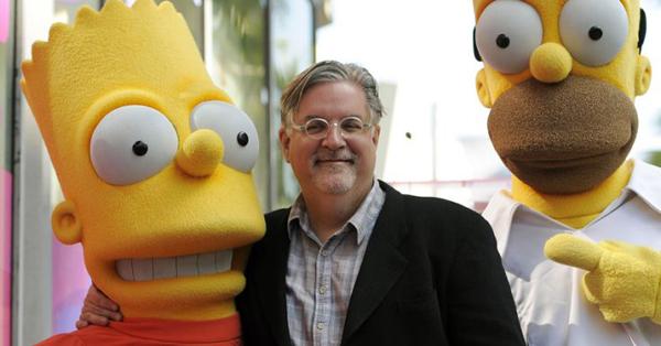 Matt_Groening_Simpson_csalad_alkotoja